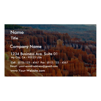 Bryce Canyon Hoodoos Business Card Templates