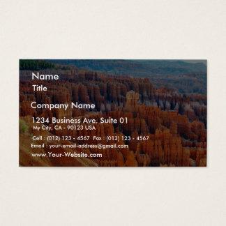 Bryce Canyon Hoodoos Business Card
