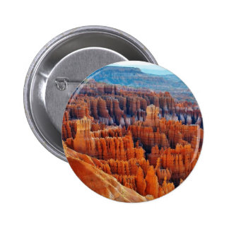 Bryce Canyon Hoodoos Button