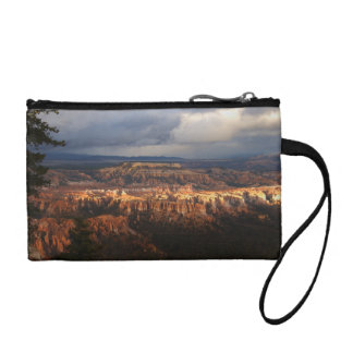 Bryce Canyon Landscape After Storm Coin Wallet