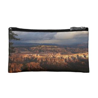Bryce Canyon Landscape After Storm Makeup Bag