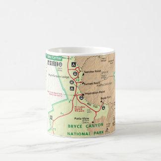 Bryce Canyon map mug