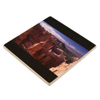 Bryce Canyon Maple Wood Coaster