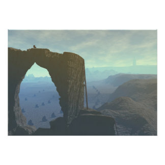 Bryce Canyon monument arch print digital art