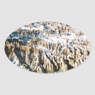 Bryce Canyon Multiple Products Oval Sticker
