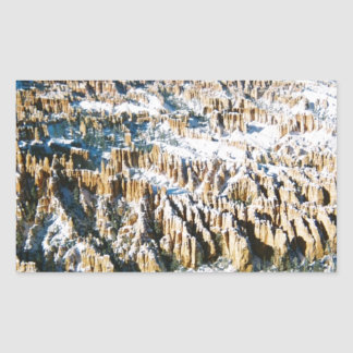 Bryce Canyon Multiple Products Rectangular Sticker