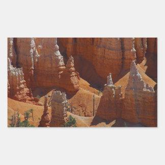Bryce Canyon National Park 3 Rectangular Sticker