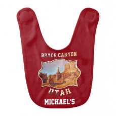 Bryce Canyon National Park Baby Bib
