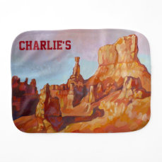 Bryce Canyon National Park Baby Burp Cloth