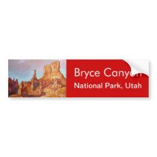 Bryce Canyon National Park Bumper Sticker