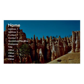 Bryce Canyon National Park Business Cards