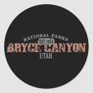 Bryce Canyon National Park Classic Round Sticker