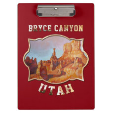 Bryce Canyon National Park Clipboard