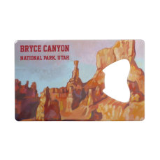 Bryce Canyon National Park Credit Card Bottle Opener
