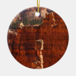 Bryce Canyon National Park Double-Sided Ceramic Round Christmas Ornament