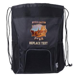 Bryce Canyon National Park Drawstring Backpack