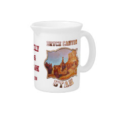 Bryce Canyon National Park Drink Pitcher