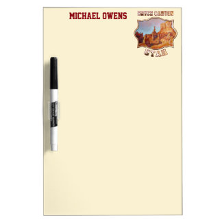 Bryce Canyon National Park Dry-Erase Board