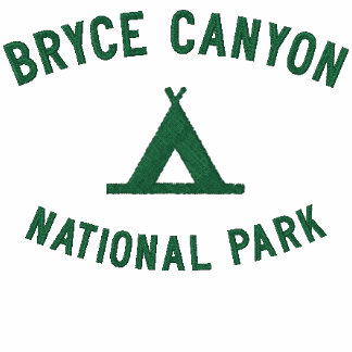 Bryce Canyon National Park Embroidered Shirt