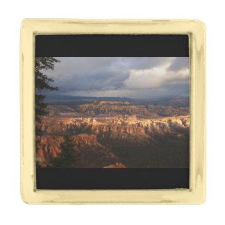 Bryce Canyon National Park Gold Finish Lapel Pin