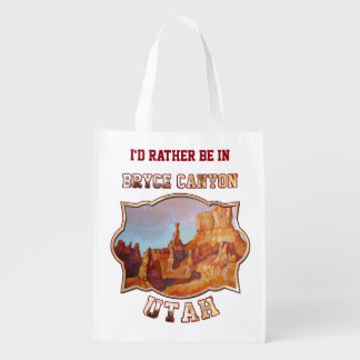 Bryce Canyon National Park Grocery Bag