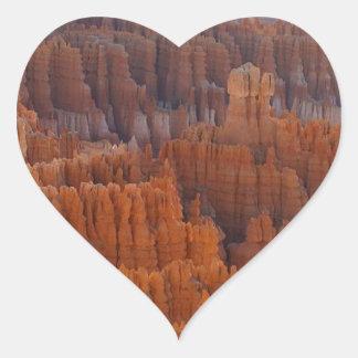 Bryce Canyon National Park Heart Sticker