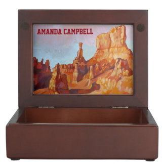 Bryce Canyon National Park Memory Box