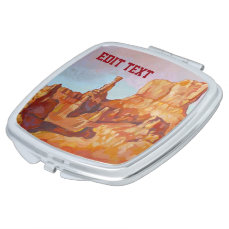 Bryce Canyon National Park Mirror For Makeup