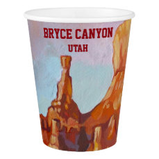 Bryce Canyon National Park Paper Cup