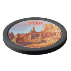 Bryce Canyon National Park Poker Chip Set