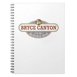 Bryce Canyon National Park Spiral Note Books