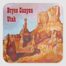 Bryce Canyon National Park Square Sticker