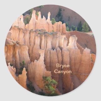 Bryce Canyon National Park Template Sticker