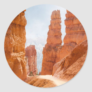Bryce Canyon National Park Trail Classic Round Sticker