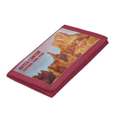 Bryce Canyon National Park Trifold Wallets
