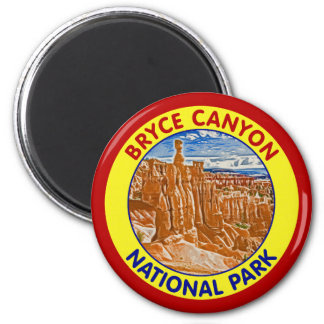 Bryce Canyon National Park, Utah 2 Inch Round Magnet