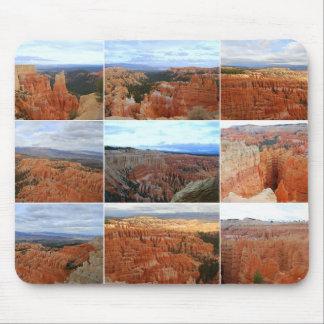 Bryce Canyon National Park, Utah, Collage Mousepad