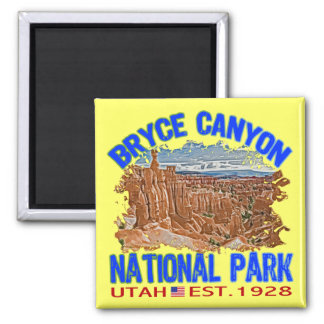Bryce Canyon National Park, Utah 2 Inch Square Magnet