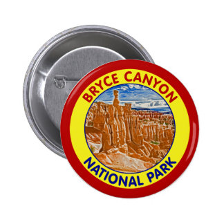 Bryce Canyon National Park, Utah Pinback Button