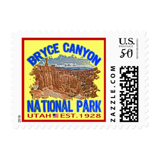 Bryce Canyon National Park, Utah Postage