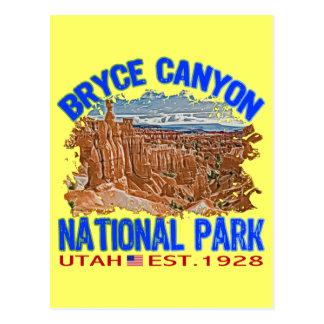 Bryce Canyon National Park, Utah Postcard