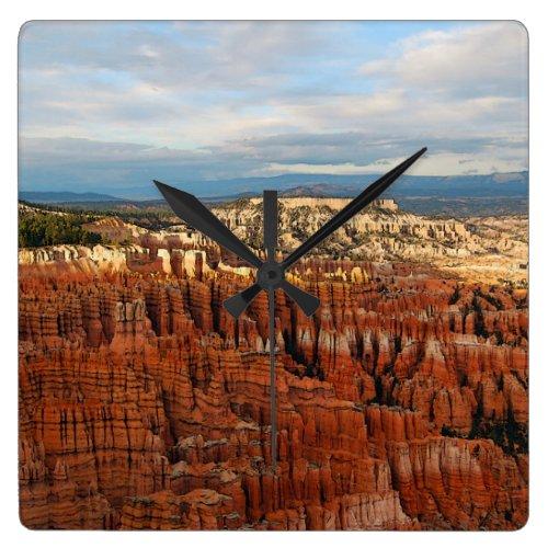Bryce Canyon National Park, Utah Square Wall Clock