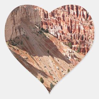 Bryce Canyon National Park, Utah, USA 23 Heart Sticker