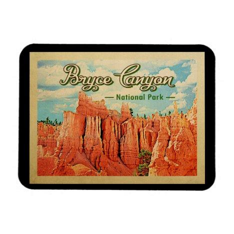 Bryce Canyon National Park Vintage Travel Magnet