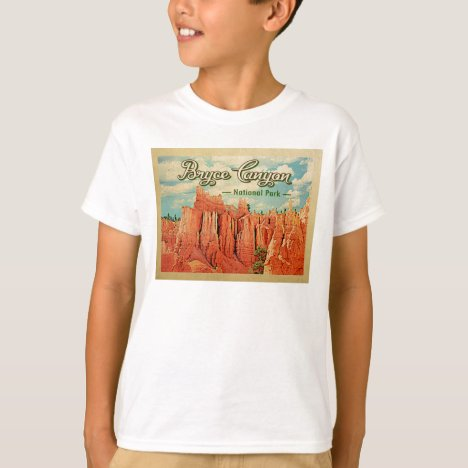 Bryce Canyon National Park Vintage Travel T-Shirt