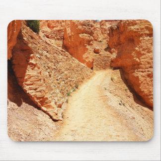 Bryce Canyon Navajo Loop Wiggles Mouse Pad