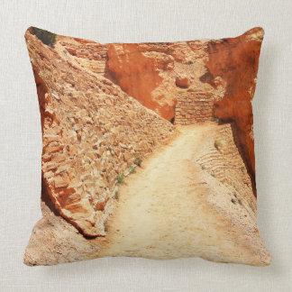 Bryce Canyon Navajo Loop Wiggles Throw Pillow