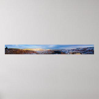 Bryce Canyon Panorama Poster