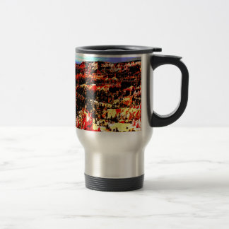 Bryce Canyon Posterization Amphitheater Travel Mug