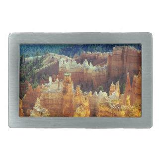 Bryce Canyon Rectangular Belt Buckle